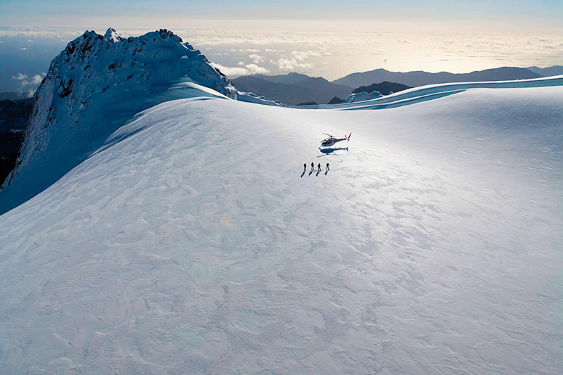 Luxury Escapes - New Zealand Tours Glacier Heli Hike Trip