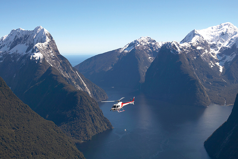 Luxury Escapes - New Zealand Tours Fiordland Heli Trips