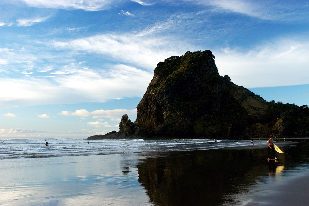 Auckland Beaches Piha Beach Day Trips