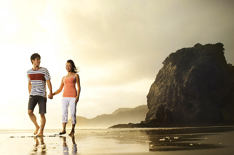 Day Trips From Auckland - Piha Beach Stroll