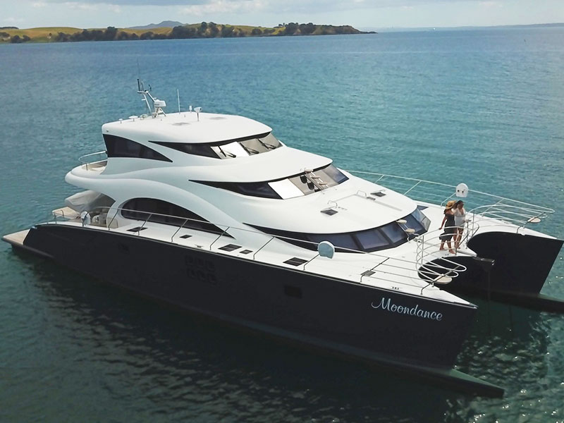 Auckland Tours Superyacht Auckland harbour cruise