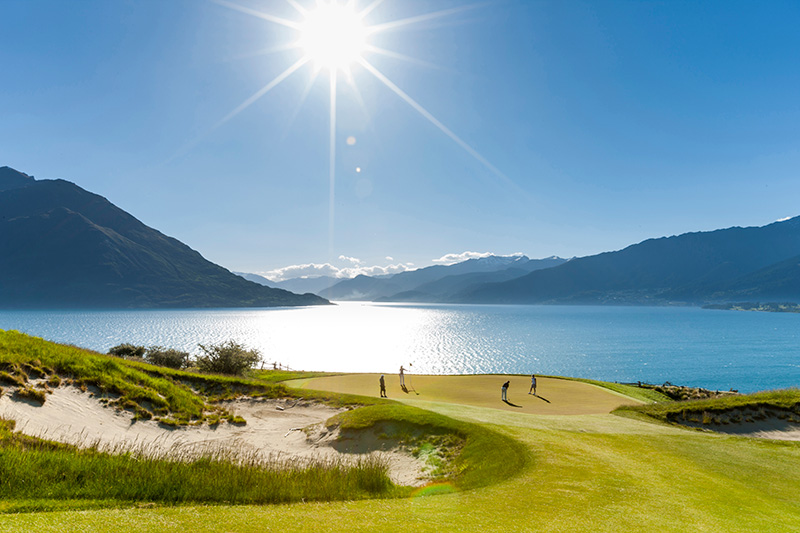 Luxury Escapes - New Zealand Tours Golf Queenstown