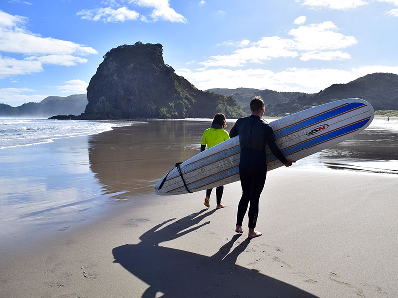 Overnight Stay Piha Beach Dine and Surf